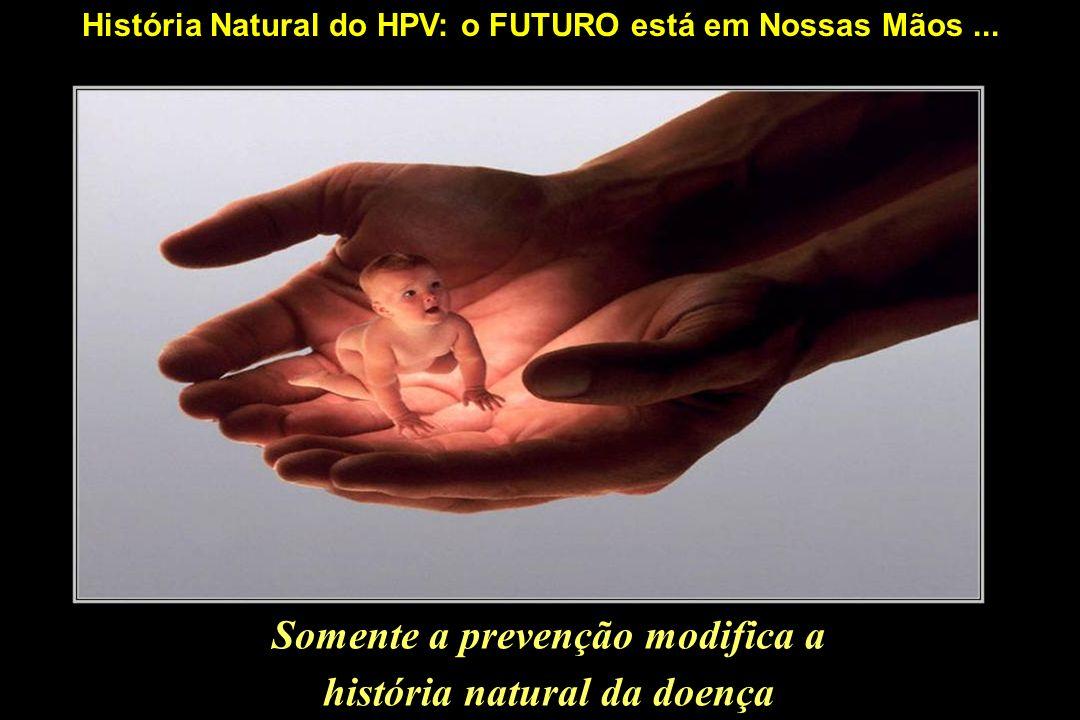 Somente a prevenção modifica a história natural da doença