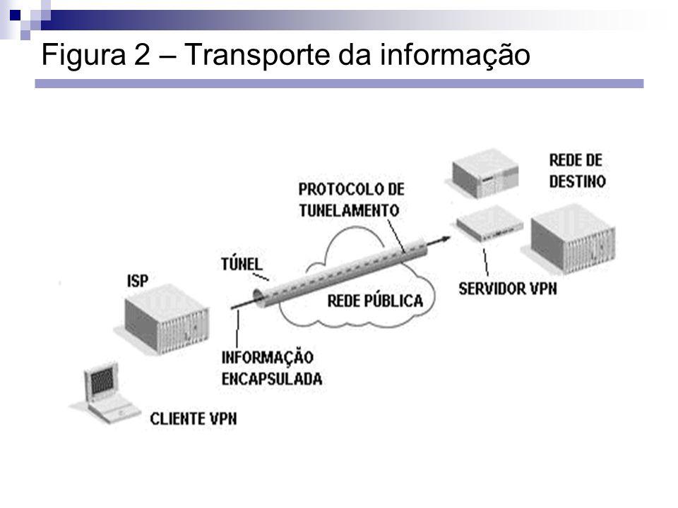 Figura 2 – Transporte da informação