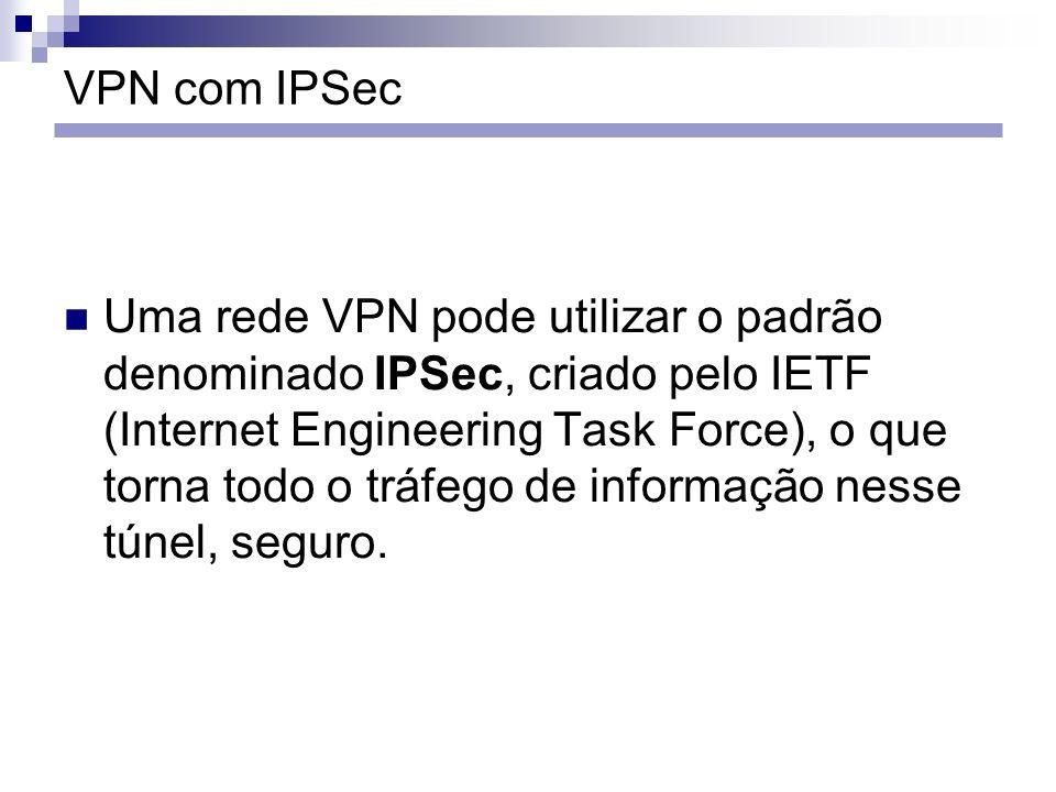 VPN com IPSec