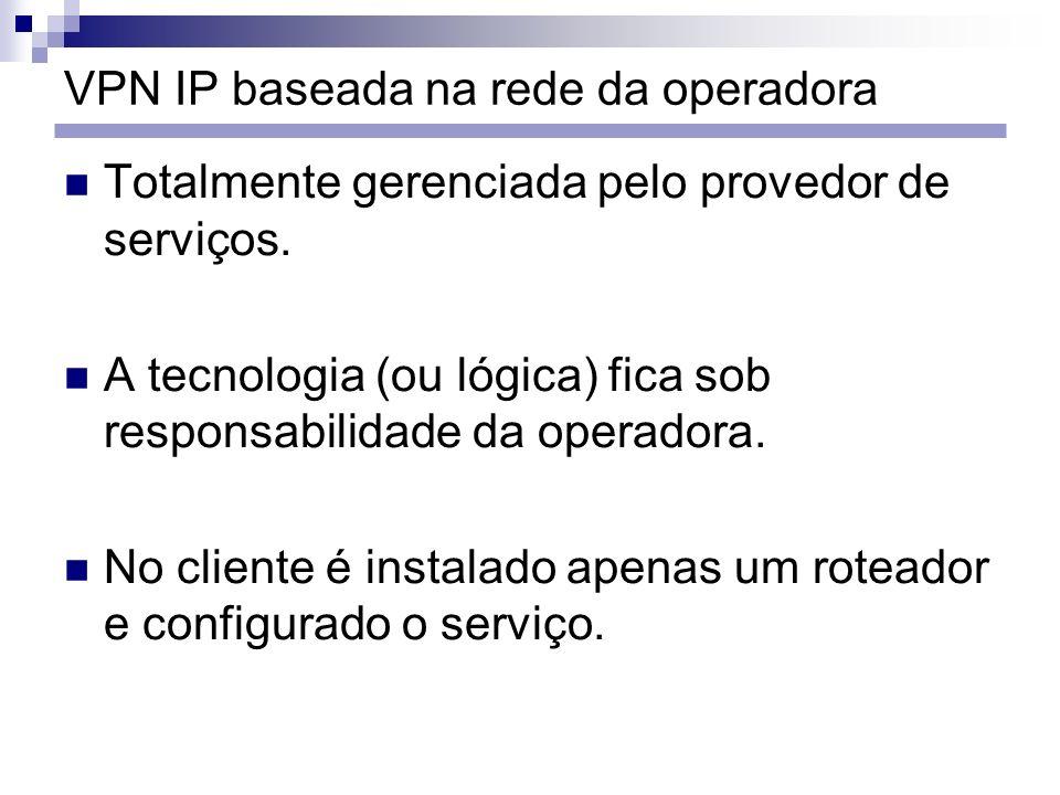 VPN IP baseada na rede da operadora