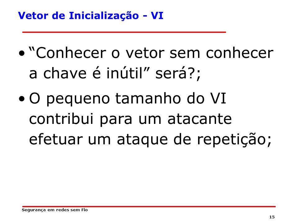 Vetor de Inicialização - VI