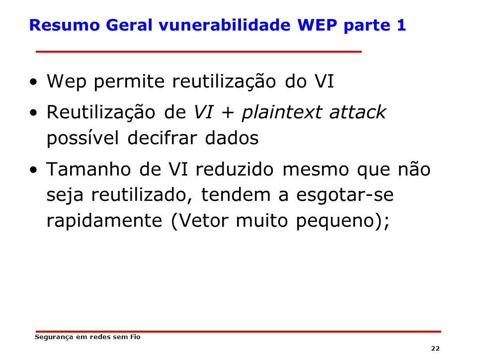 Resumo Geral vunerabilidade WEP parte 1