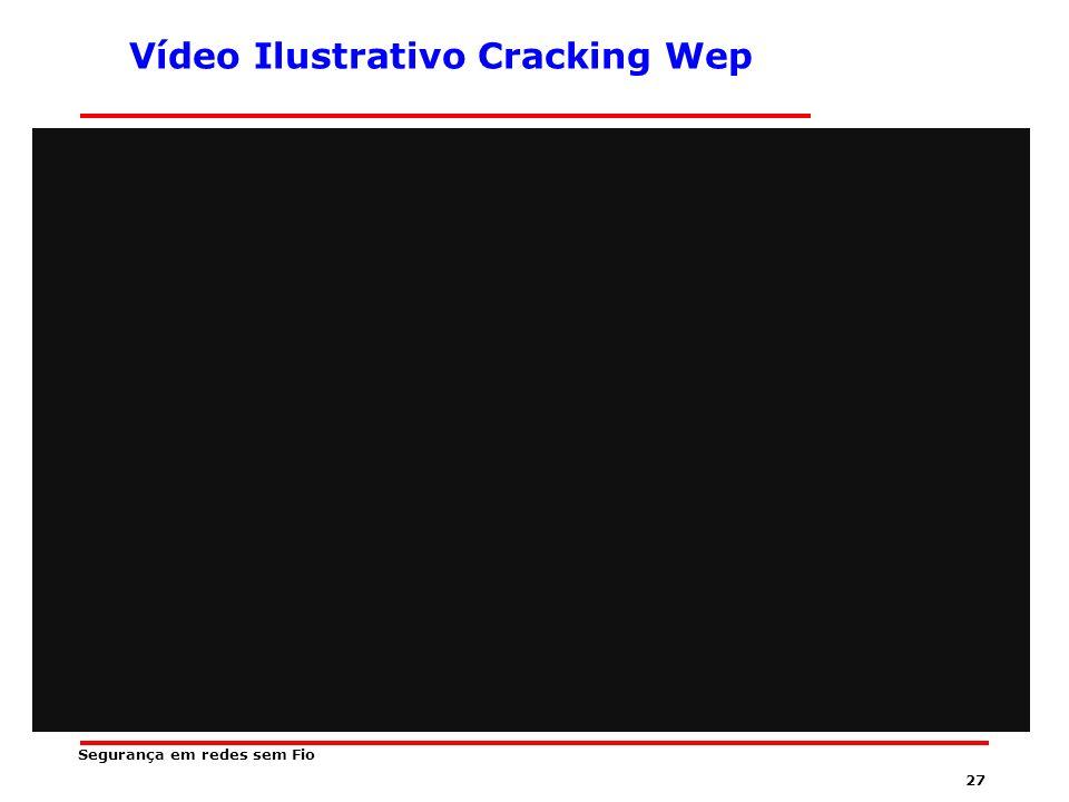 Vídeo Ilustrativo Cracking Wep