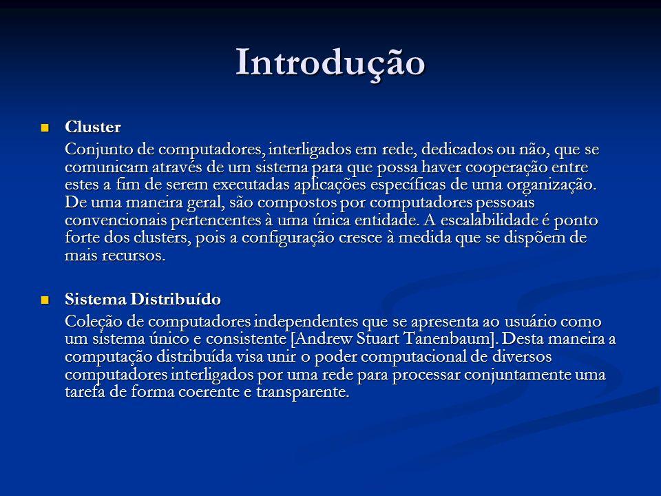 Introdução Cluster.