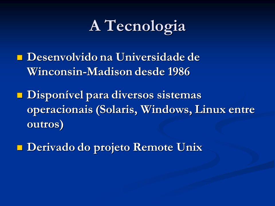 A Tecnologia Desenvolvido na Universidade de Winconsin-Madison desde 1986.