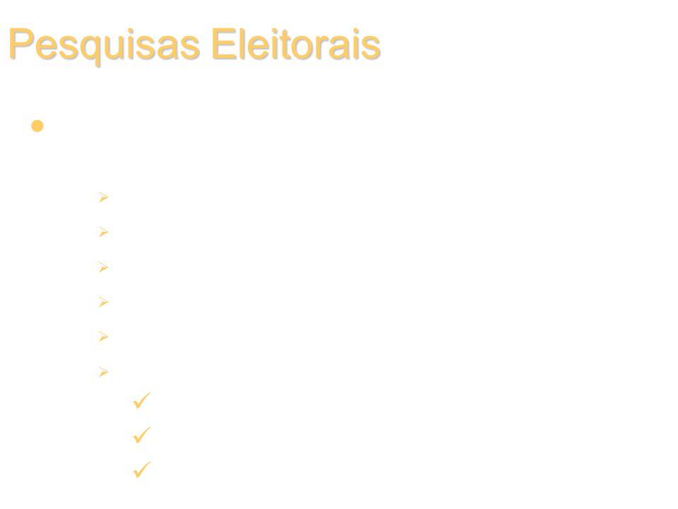 Pesquisas Eleitorais Relatório final e análise dos resultados