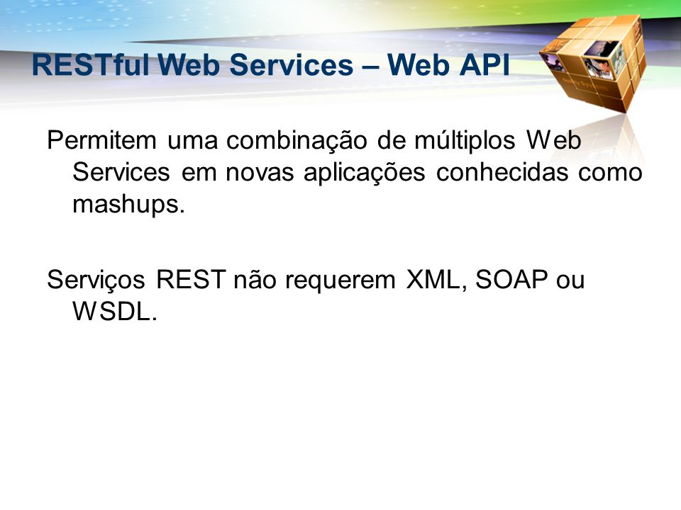 RESTful Web Services – Web API
