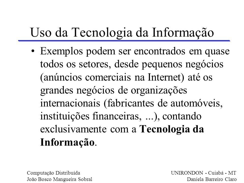 Uso da Tecnologia da Informação