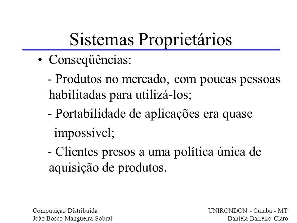 Sistemas Proprietários
