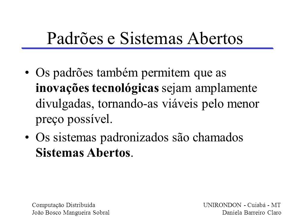 Padrões e Sistemas Abertos