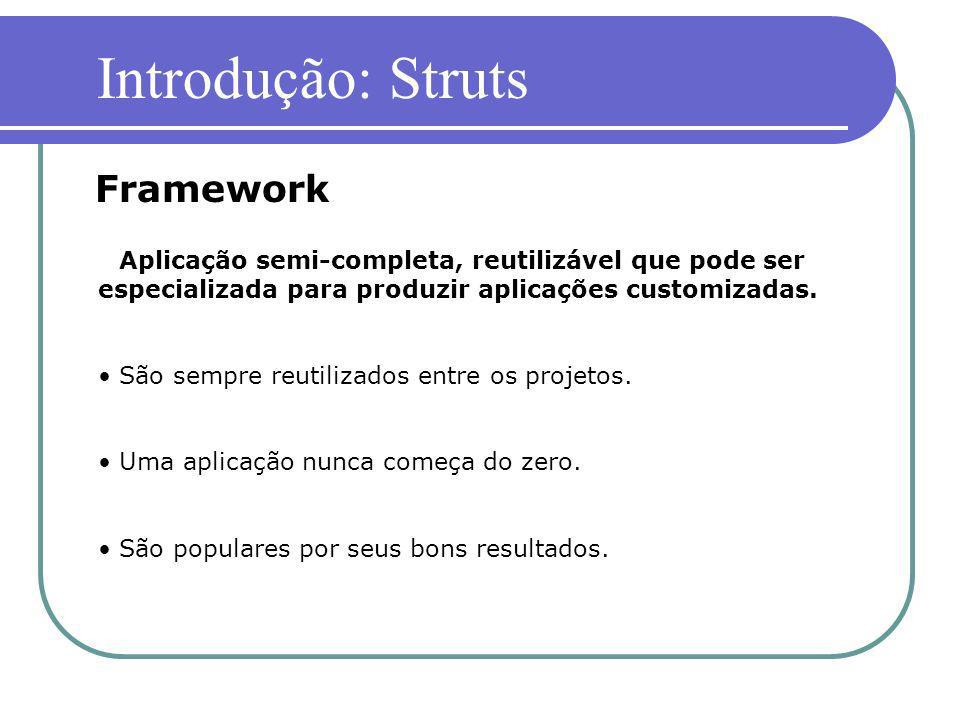 Introdução: Struts Framework