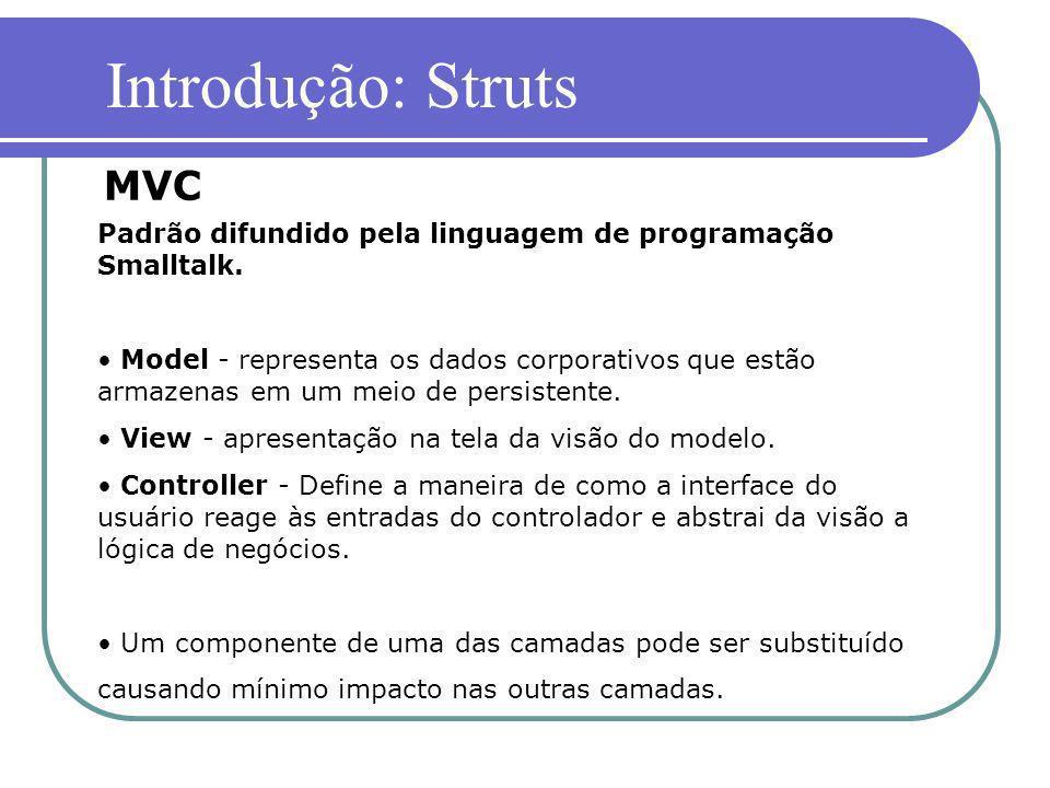 Introdução: Struts MVC