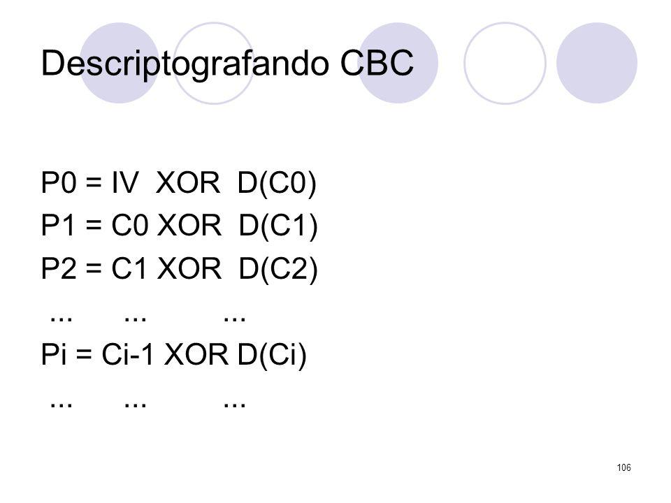 Descriptografando CBC