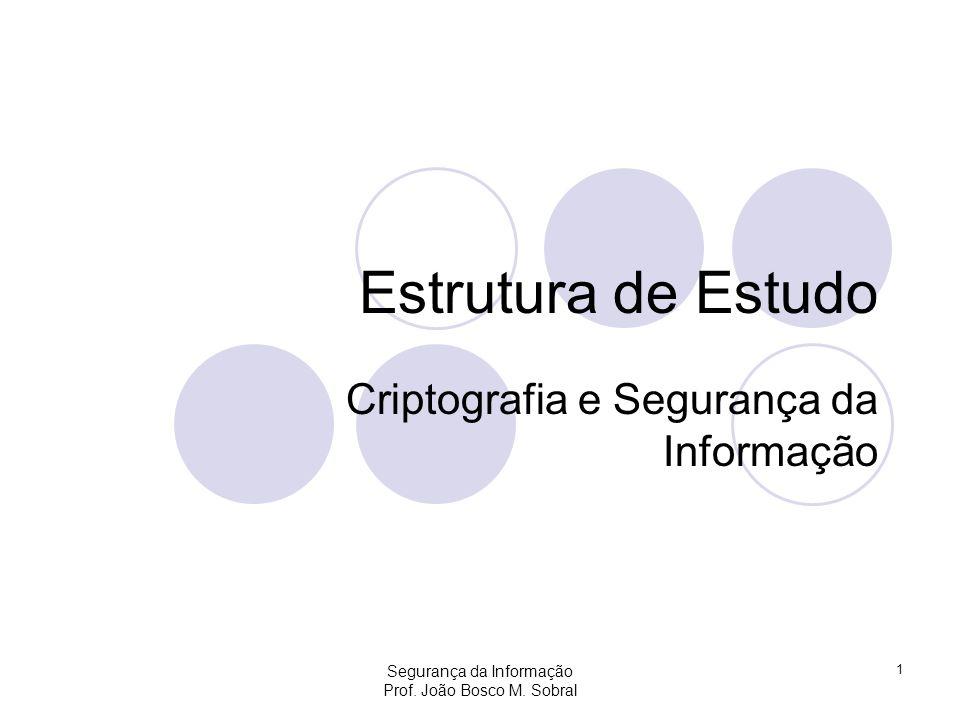 Criptografia e Segurança da Informação