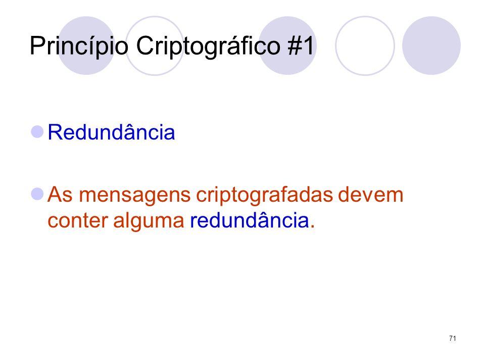 Princípio Criptográfico #1