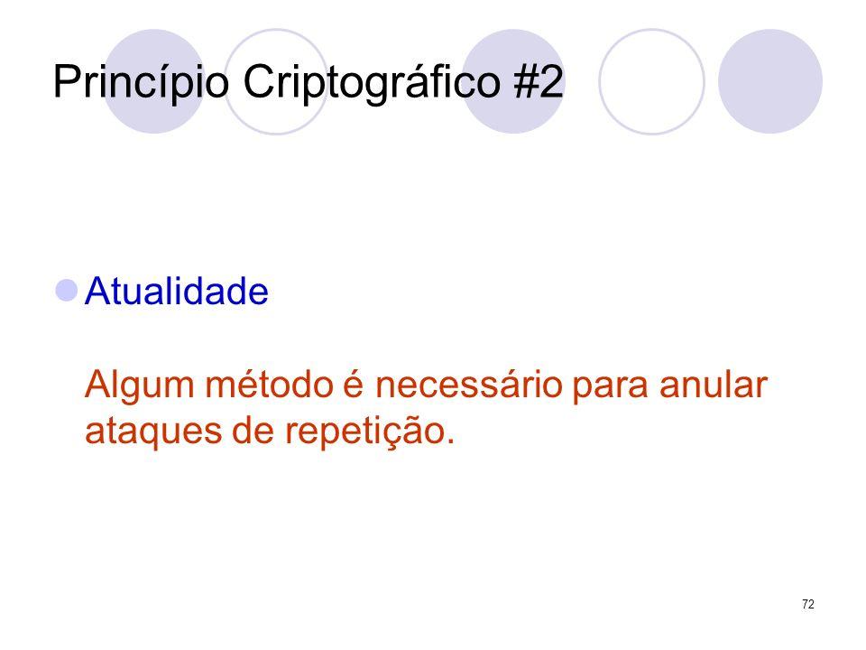Princípio Criptográfico #2