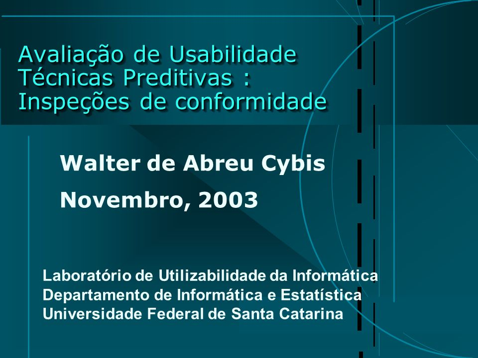 Walter de Abreu Cybis Novembro, 2003
