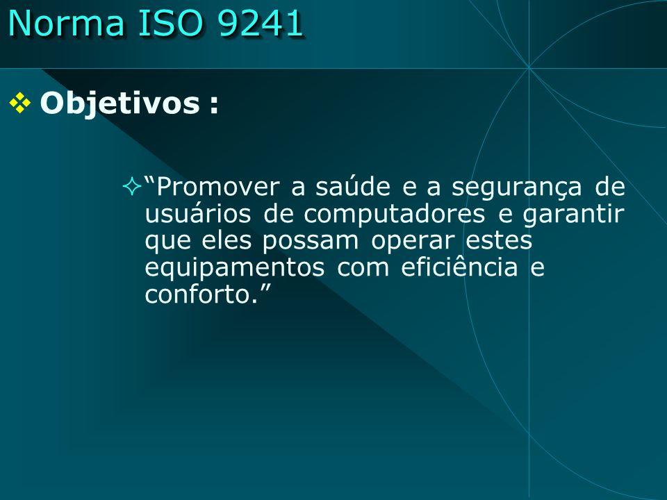 Norma ISO 9241Objetivos :