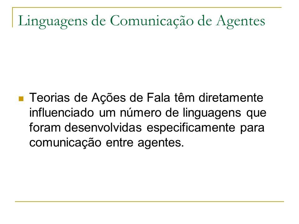 Linguagens de Comunicação de Agentes