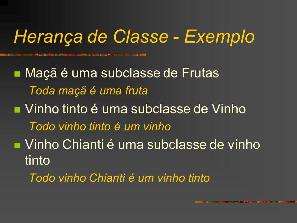 Herança de Classe - Exemplo