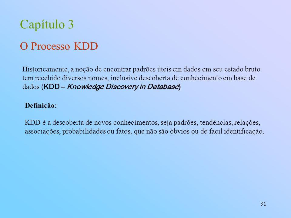 Capítulo 3 O Processo KDD