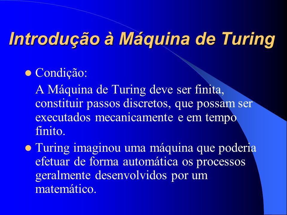 Introdução à Máquina de Turing