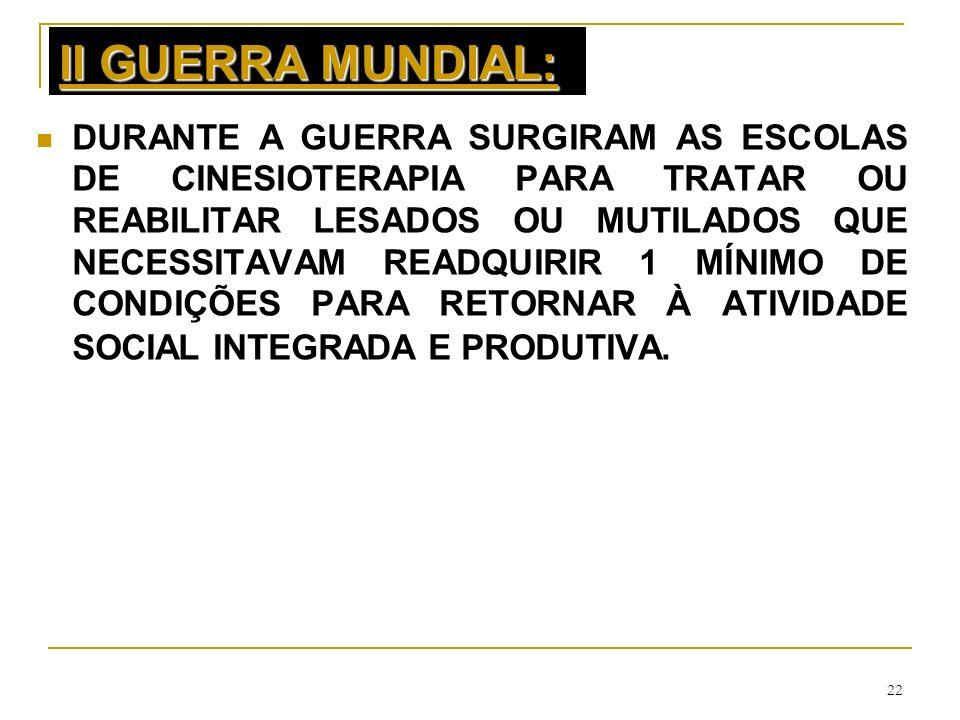 II GUERRA MUNDIAL: