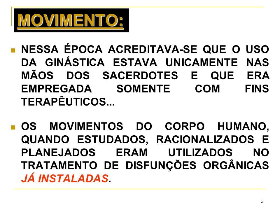 MOVIMENTO: