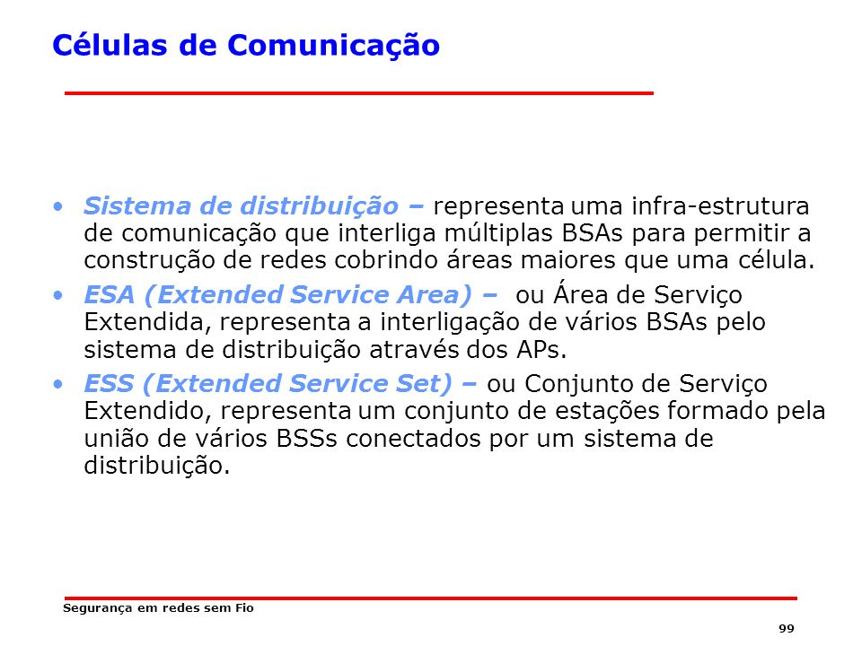 Células de Comunicação