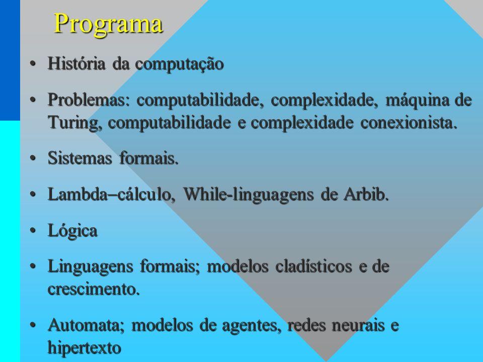 Programa História da computação