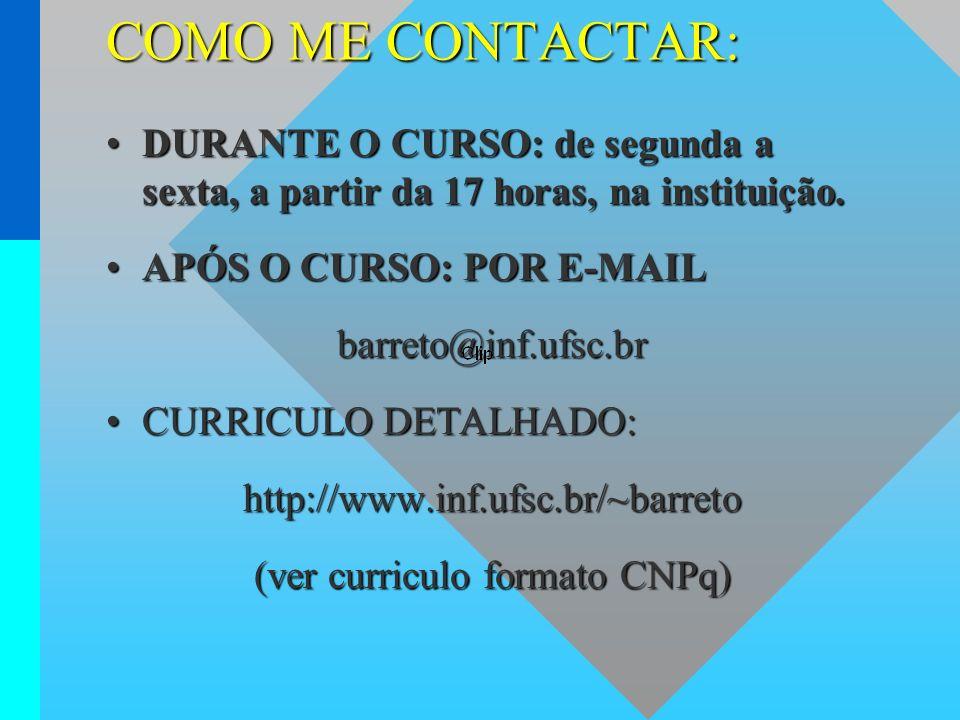 (ver curriculo formato CNPq)