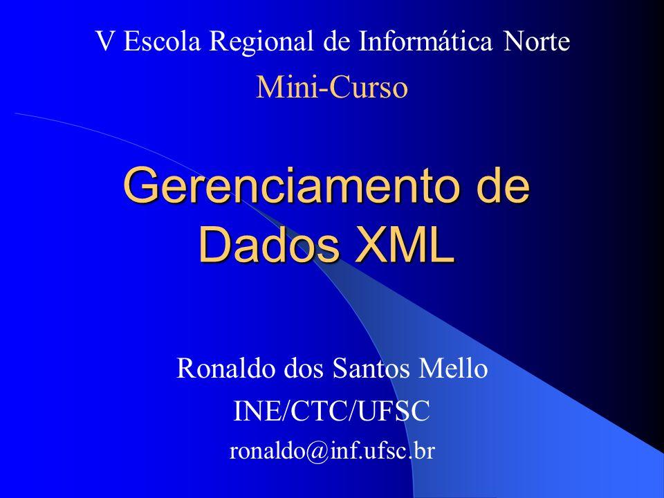 Gerenciamento de Dados XML