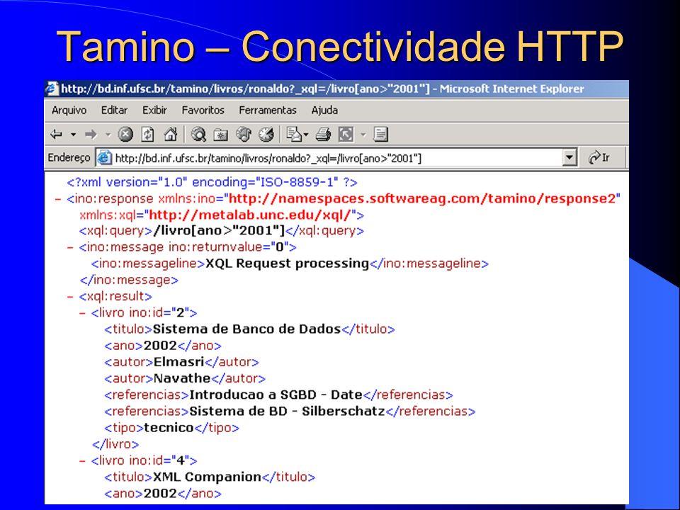Tamino – Conectividade HTTP