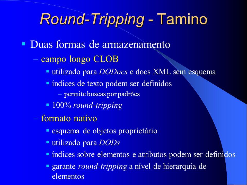 Round-Tripping - Tamino