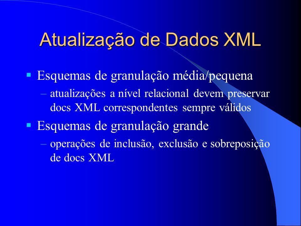 Atualização de Dados XML