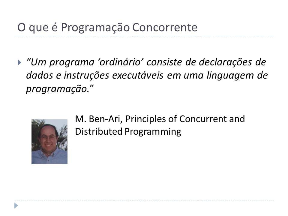 O que é Programação Concorrente
