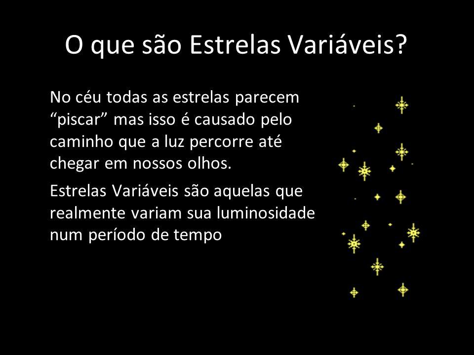 O que são Estrelas Variáveis