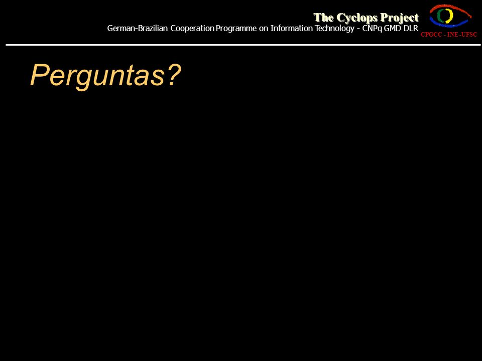 Perguntas The Cyclops Project