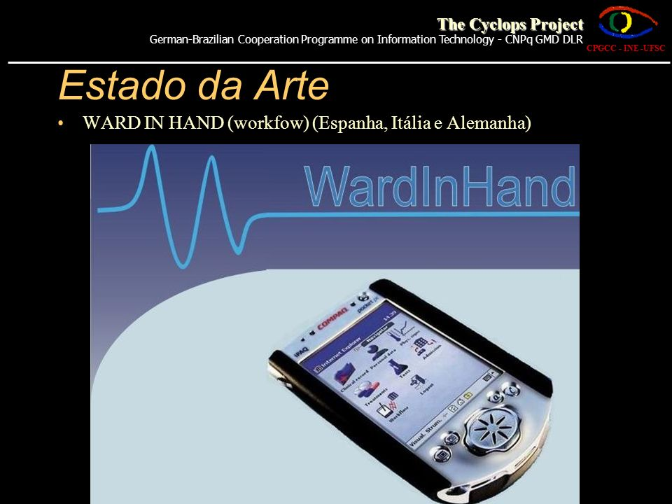Estado da Arte WARD IN HAND (workfow) (Espanha, Itália e Alemanha)