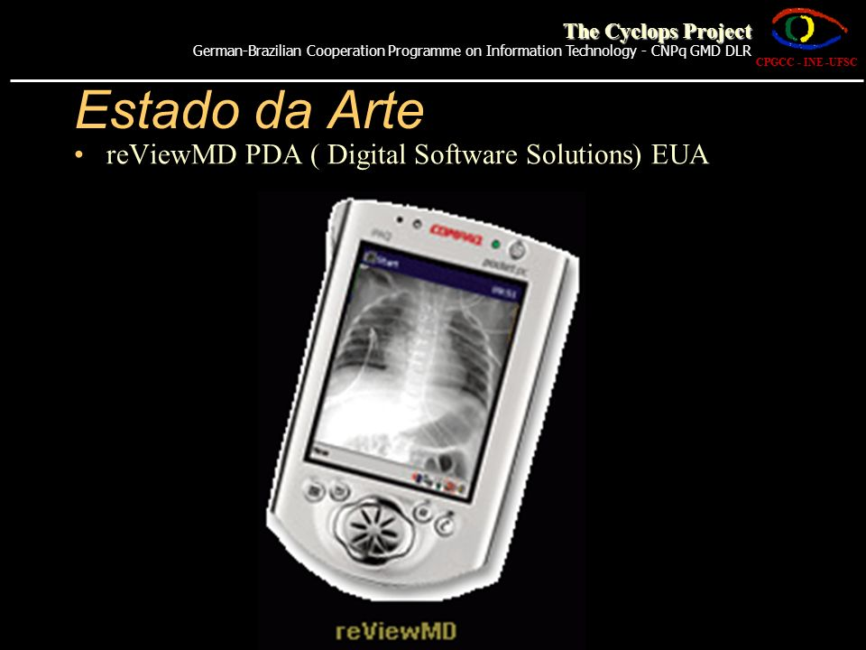 Estado da Arte reViewMD PDA ( Digital Software Solutions) EUA