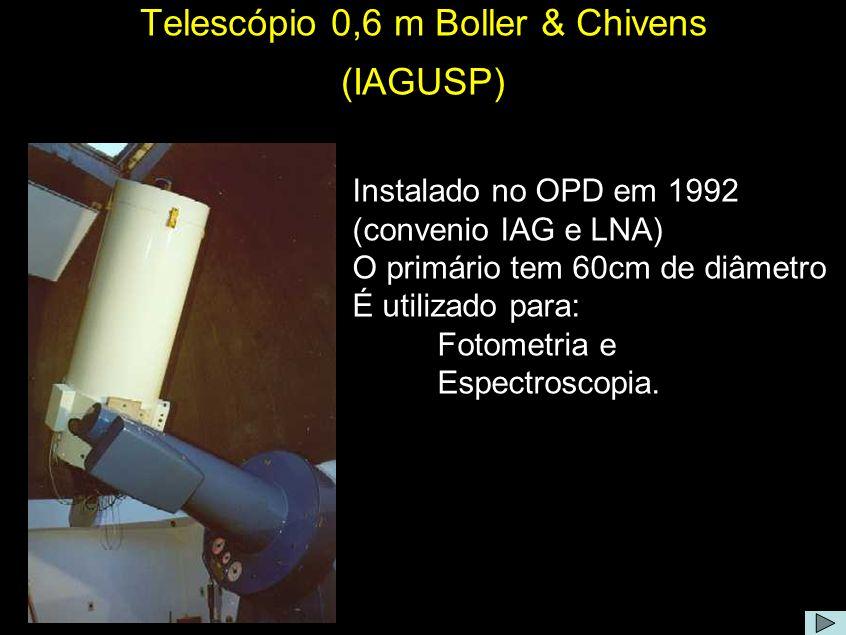 Telescópio 0,6 m Boller & Chivens (IAGUSP)