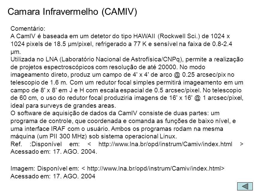 Camara Infravermelho (CAMIV)