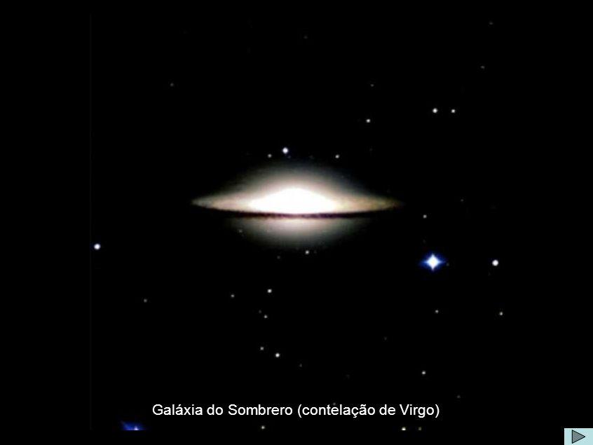 Galáxia de Sombrero Galáxia do Sombrero (contelação de Virgo)