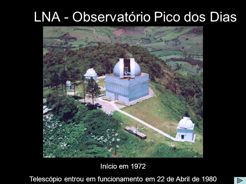 LNA - Observatório Pico dos Dias