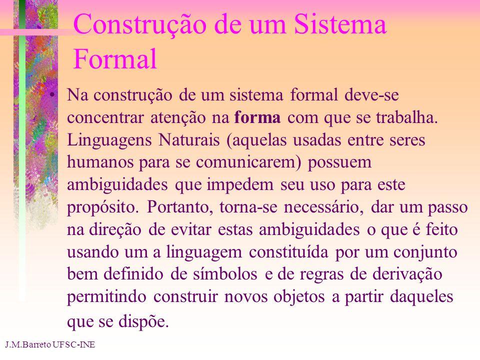 Construção de um Sistema Formal