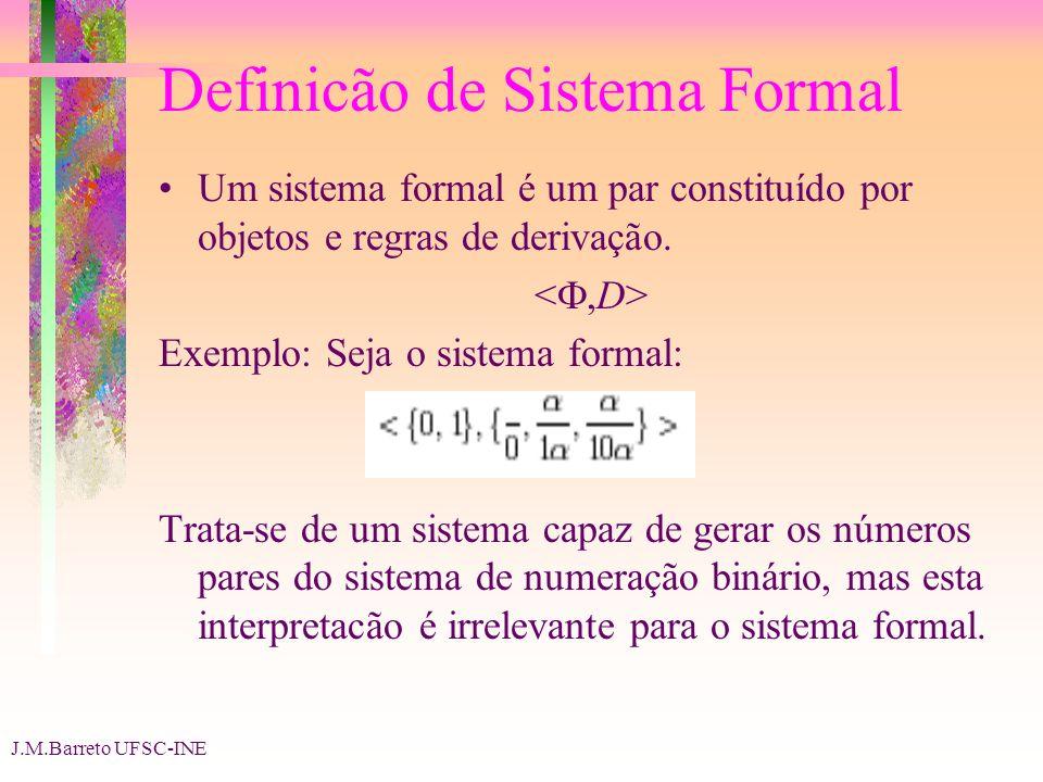 Definicão de Sistema Formal