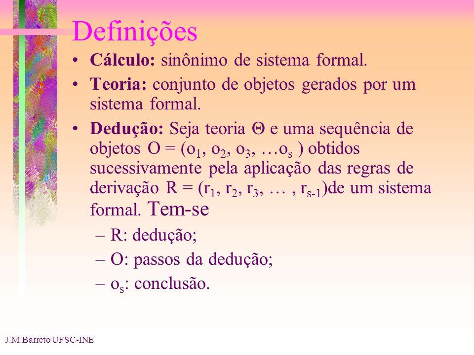 Definições Cálculo: sinônimo de sistema formal.