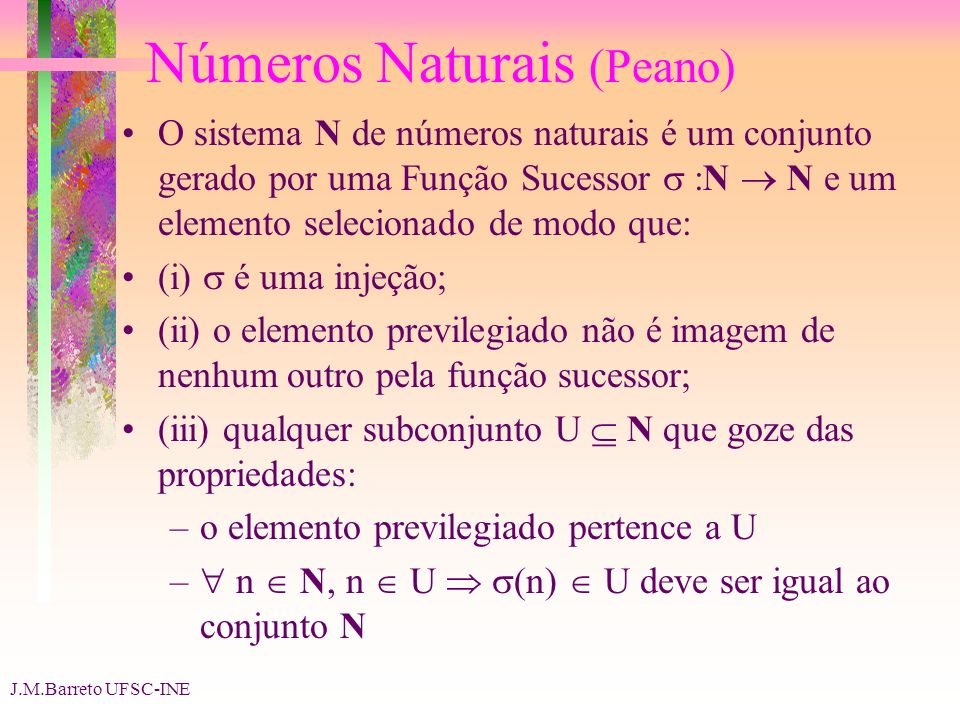 Números Naturais (Peano)