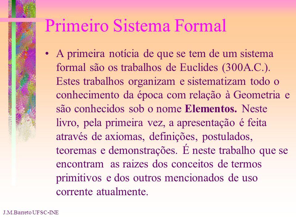 Primeiro Sistema Formal