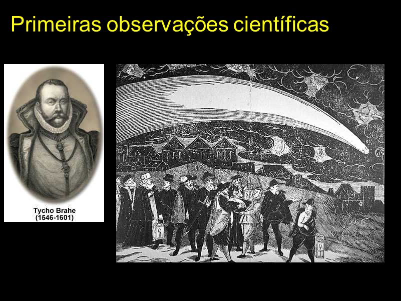 Primeiras observações científicas